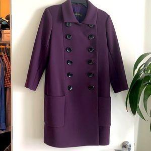 🎉 Malandrino Purple Mod Coat